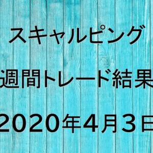【FXトレード結果公開】スキャルピング:2020年4月3日