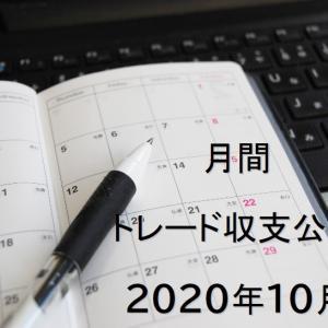 2020年10月 FXトレード収支