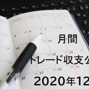 2020年12月 FXトレード収支