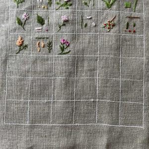 花刺繍刺繍色々
