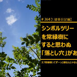 #264 シンボルツリーを「常緑樹」にすると思わぬ落とし穴がある?