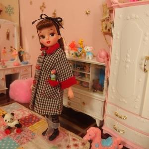 復刻リカちゃんにペニーブライトのお洋服
