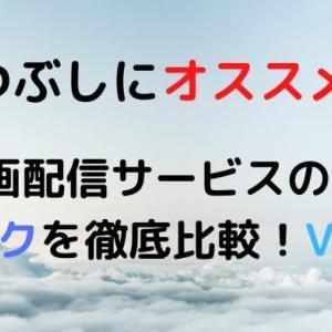 暇つぶしにオススメ!動画配信サービスのサブスクを徹底比較!VOD
