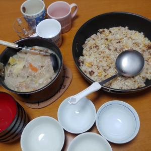 今日の朝御飯
