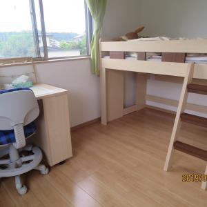 【 Before&After 】③新築4LDKで快適な新生活を!~2階子供部屋 西側の部屋~