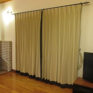 リビングダイニングのカーテン