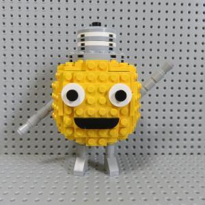 レゴ 東急電気&ガスキャラクター てるまるを作ってみました!