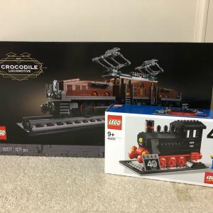 レゴ #10277 クロコダイル機関車