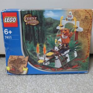 レゴ 世界の冒険シリーズ 東洋の神秘 #7411 虎の神タイグラーの叫び