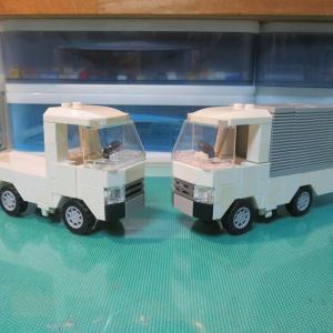 レゴ オリジナルトラックを作ってみました♪
