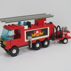レゴシティ #6480 〜ライト&サウンドが楽しい消防車〜