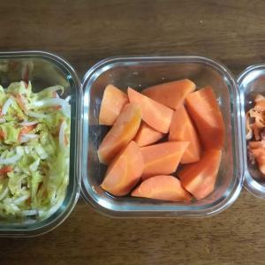 常備菜を作ってみた