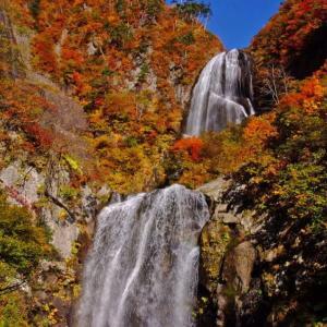 絶景!安の滝紅葉(2012年10月27日)