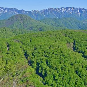 白神山地・二ッ森に絶景を見た。(2020年5月30日)
