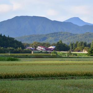 初秋の八塩山と東光山。(2019年9月13日)
