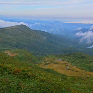 紅葉直前の栗駒山に行ってみた。(2016年9月17日)