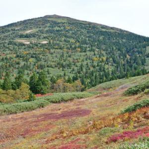 秋の森吉山は駆け足で。(2017年10月8日)