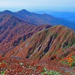 紅葉真っ盛りの太平山へ。(2019年10月24日)