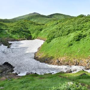 晩夏の鳥海山・祓川から。2(2021年8月17日)