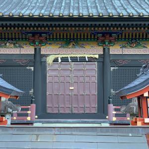 神社の形(静岡浅間神社・御穂神社)