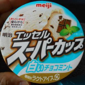 白いチョコミント!?エッセル スーパーカップの新商品「白いチョコミント」いただいてみた。