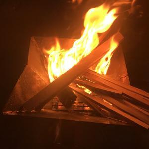 焚き火の振り返りと心配