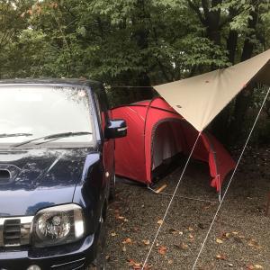 キャンプへ行って行ってきた。