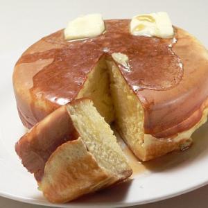 厚焼きホットケーキのレシピ
