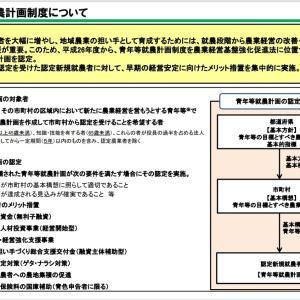 【農業は日本を救う】認定農業者!!認定就農者!!