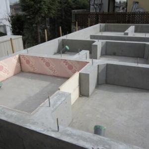 脱衣所・お風呂・1Fトイレの基礎と配管