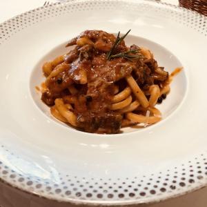 デパートの中のイタリアン 気楽に行けるカジュアルな、でも本格的なレストラン