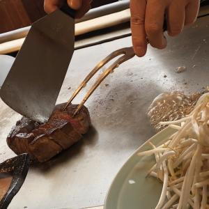 鉄板焼 赤坂 目の前で一流シェフが焼いてくれる「フィレステーキ」をお得に食べたい方は必見です。