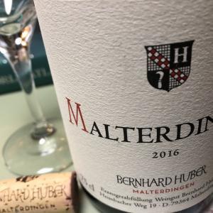 ベルンハルト・フーバーの赤ワイン ドイツワインは白ばかりだと思っていたワイン初心者が、ドイツの赤ワインを初めて飲んだ。