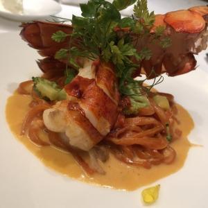 三越「フランス展」の後はイタリアンレストランで『オマール海老のクリームパスタ』はいかが