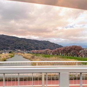 八ヶ岳から諏訪湖に流れいる宮川