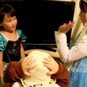 【アナと雪の女王】を演じる三姉妹/アナは迫真の演技