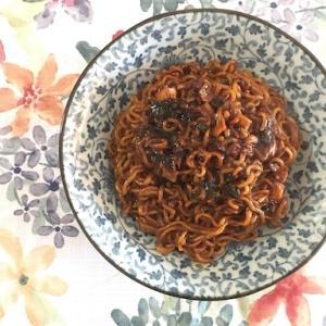 韓国映画『パラサイト』に出てくるインスタント麺『ジャパグリ』を作ってみた