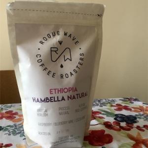 エチオピアのコーヒーを北海道のおさらっぺ焼きで飲む