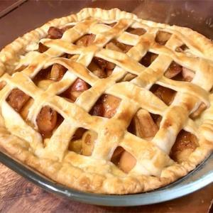 りんご消費にアップルパイを作った〜