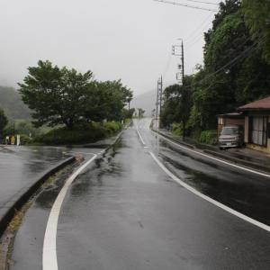 岐阜/中津川② 雨に煙る馬籠宿