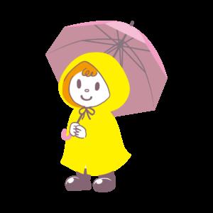新1年生の傘のサイズは50cmと55cmどちらがおすすめ?