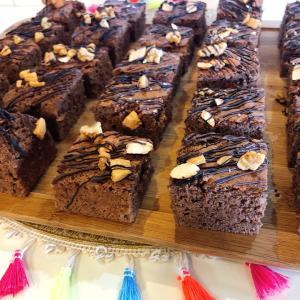 バレンタイン第一弾!大量生産に最高「簡単手作りチョコレートケーキ」
