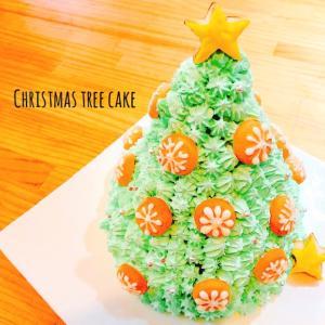 簡単に栄えるケーキが作れる!この時期には必須!みんなびっくりツリーケーキ★