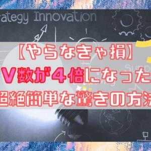【やらなきゃ損】PV数を2倍3倍に増やす!驚きの簡単カスタマイズ方法
