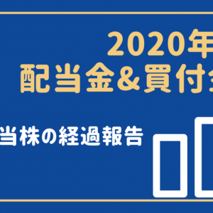 【高配当株】2020年7月は配当金0円・買付金額56,404円でした!