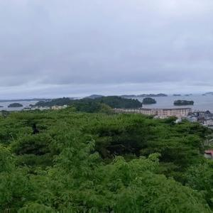 2020年 7月4日 宮城県松島町の新富山展望台