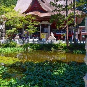 2021年 7月17日 山形県鶴岡市の出羽三山神社