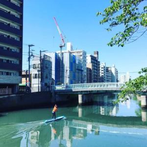 久しぶりの漕ぎ練とロープウェイのある風景