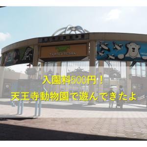【大阪/天王寺】入園料500円!天王寺動物園に行ってきたよ