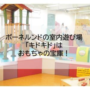ボーネルンドの室内遊び場「キドキド」はおもちゃの宝庫!
